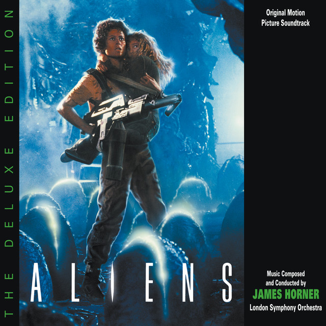 Aliens: The Deluxe Edition (Original Motion Picture Soundtrack) Albumcover