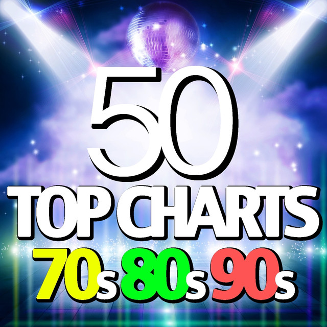 Various Artists 50 Top Charts 70s, 80s, 90s album cover