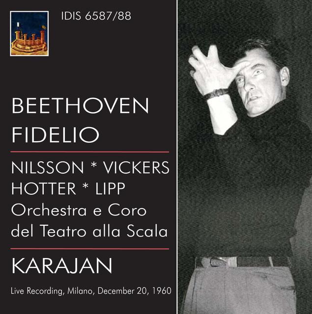 Beethoven: Fidelio (1960) Albumcover
