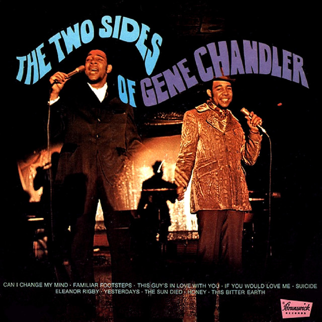 The Two Sides of Gene Chandler Albumcover