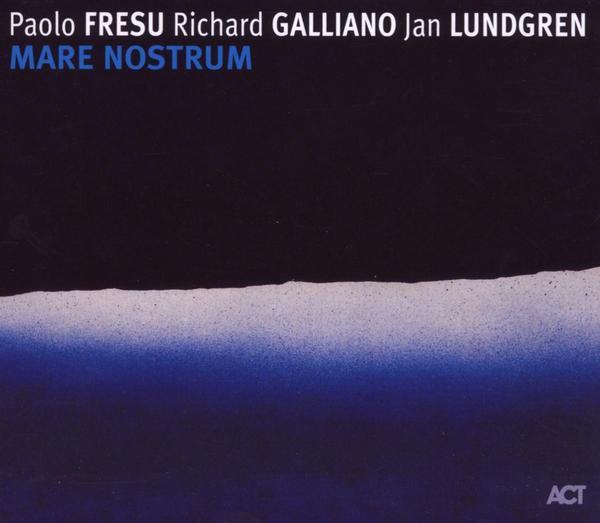 Skivomslag för Paolo Fresu, Richard Galliano, Jan Lundgren: Mare Nostrum