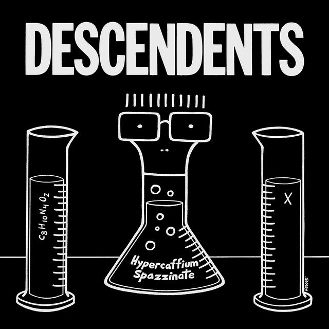 Skivomslag för Descendents: Hypercaffium Spazzinate