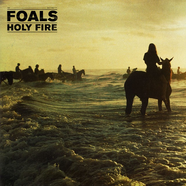 Album cover for Holy Fire by Foals