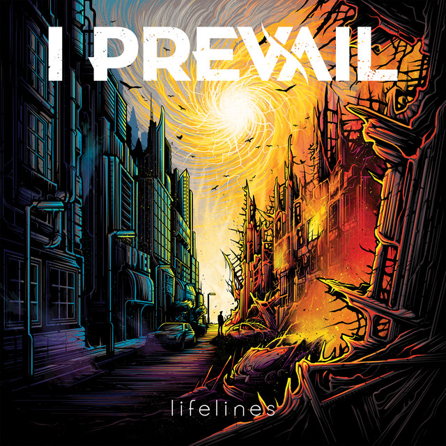 Album cover for Lifelines by I Prevail