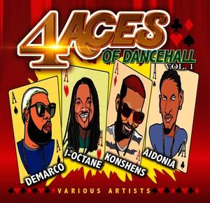 4 Aces of Dancehall, Vol. 1 Albumcover