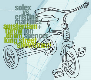 Amsterdam Throwdown King Street Showdown (Solex Vs. Cristina Martinez + Jon Spencer) album