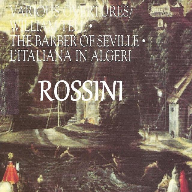 Rossini - Various Overtures Albumcover