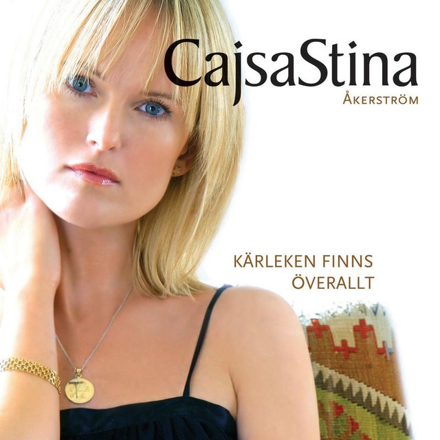Skivomslag för CajsaStina Åkerström: Kärleken Finns Överallt