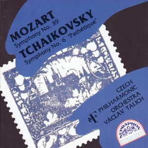 Mozart: Symphony No. 39 - Tchaikovsky: Symphony No. 6 Albumcover