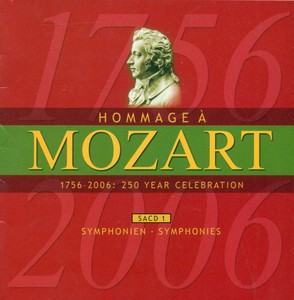 Mozart (A Homage) - 250 Year Celebration, Vol. 1 (Symphonies) Albumcover