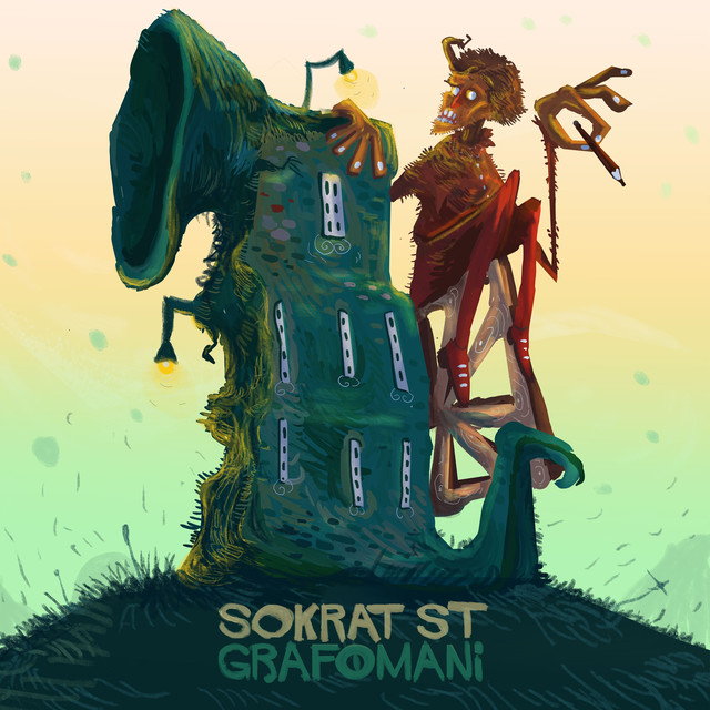 Album cover for Grafomani by Sokrat ST