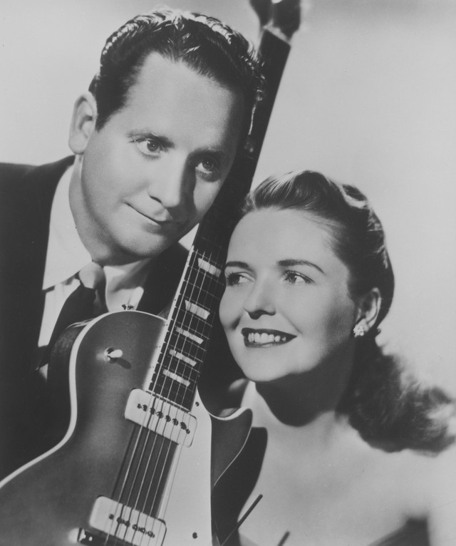 Les Paul & Mary Ford Wither Thou Goest cover
