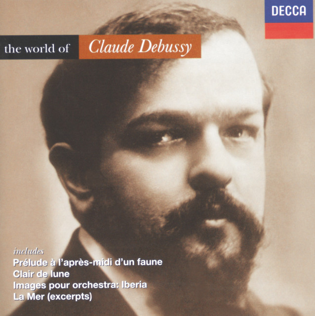 Debussy: The World of Debussy Albumcover