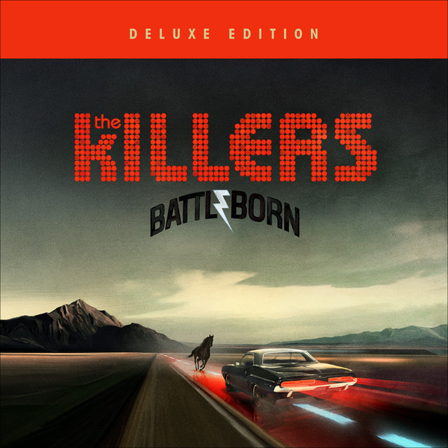The Killers Battle Born (Japan Version) album cover