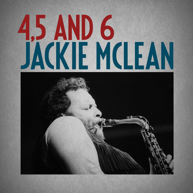 Jackie McLean 4, 5 and 6 album cover