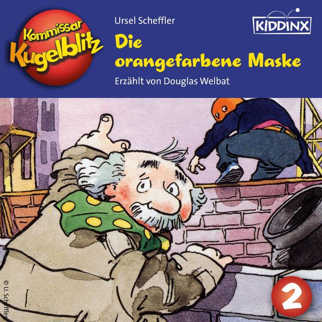Folge 2 - Die orangefarbene Maske Cover