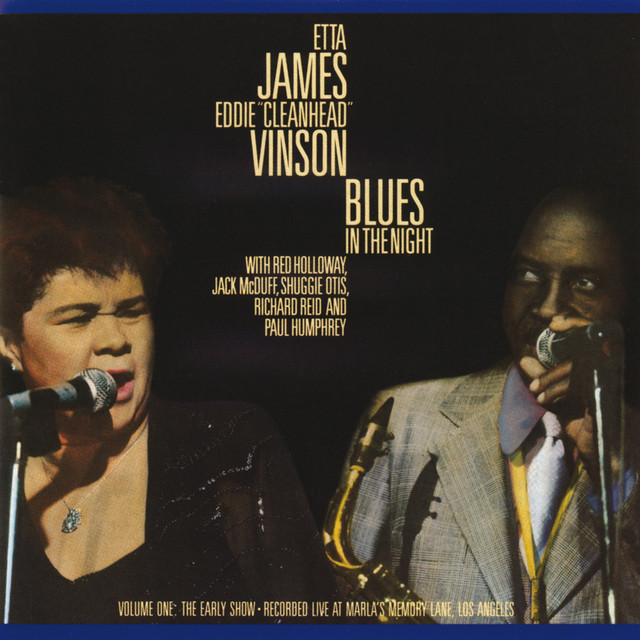 Blues In The Night, Vol. 1: The Early Show (Live) Albumcover