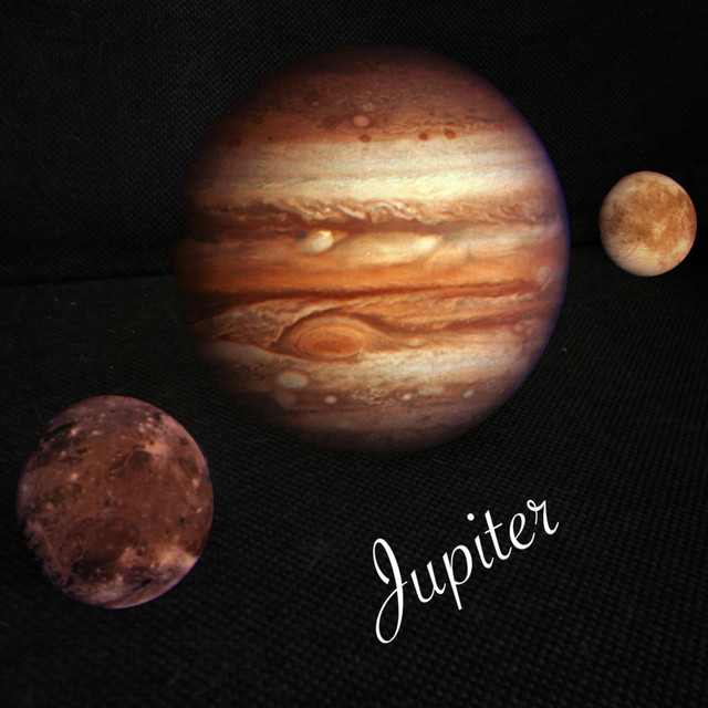 Album cover for Jupiter by Cullen Rawlins