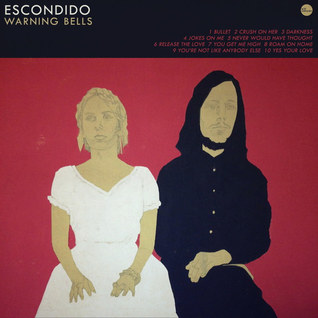 Album cover for Warning Bells by Escondido