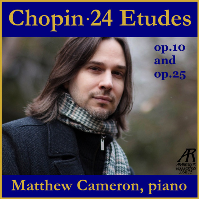 Chopin: 24 Etudes Op. 10 and Op. 25 Albumcover