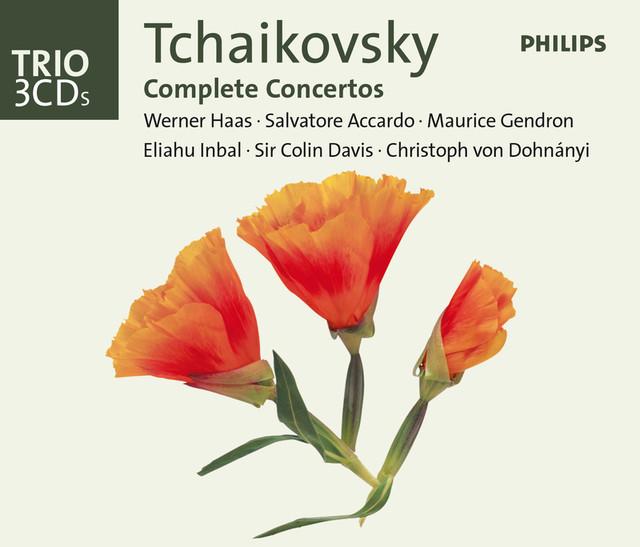 Tchaikovsky: The Complete Concertos Albumcover