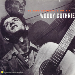Woody Guthrie  Cisco Houston Bed on the Floor cover