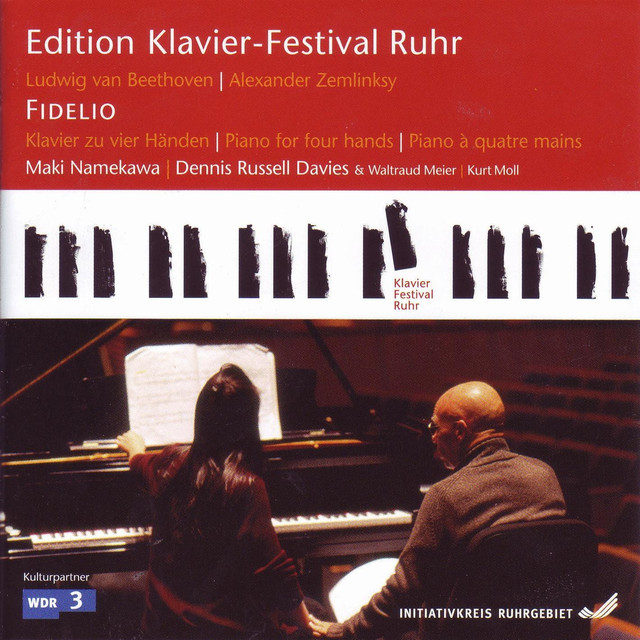Beethoven: Fidelio (Arr. by A. Zemlinsky) (Edition Ruhr Piano Festival, Vol. 16) Albumcover