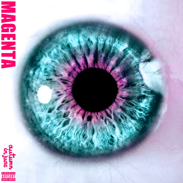 Album cover for Magenta by Autumn In June