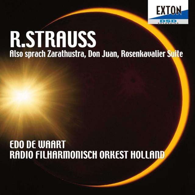 R. Strauss: Also sprach Zarathustra, Don Juan, Rosenkavalier Suite Albumcover