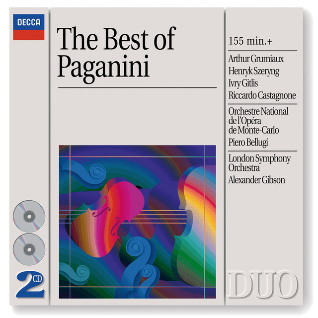 The Best of Paganini (2 CDs) Albumcover