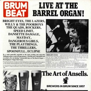Live At the Barrel Organ Albumcover