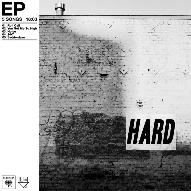 Album cover for Hard - EP by The Neighbourhood