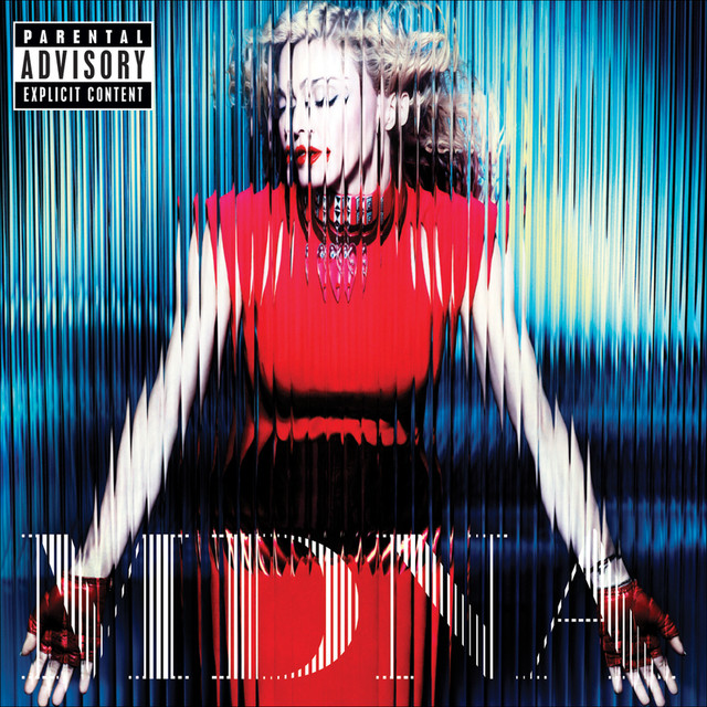 MDNA (Standard Explicit Version) Albumcover