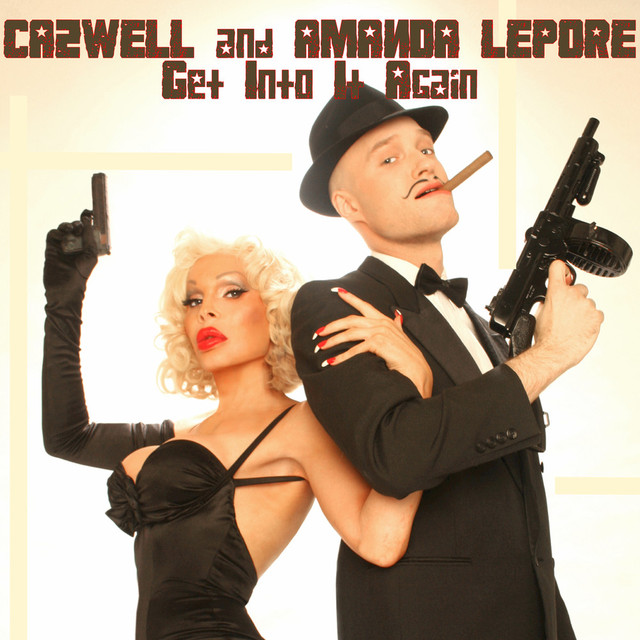 Cazwell and Amanda Lepore