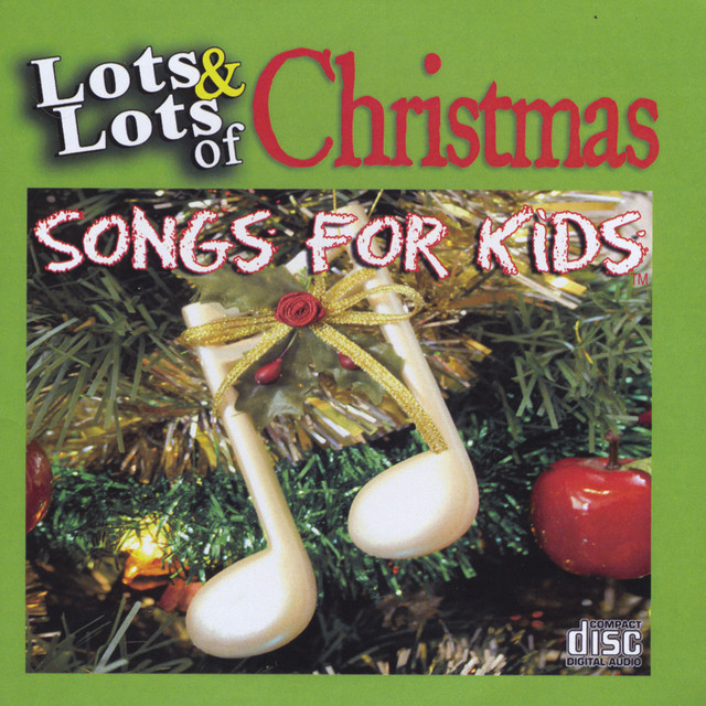 James Coffey & Friends Lots and Lots of Christmas Songs for Kids album cover
