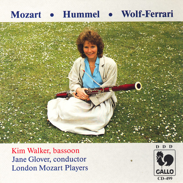 Mozart, Wolf-Ferrari, Hummel, Bassoon Concertos
