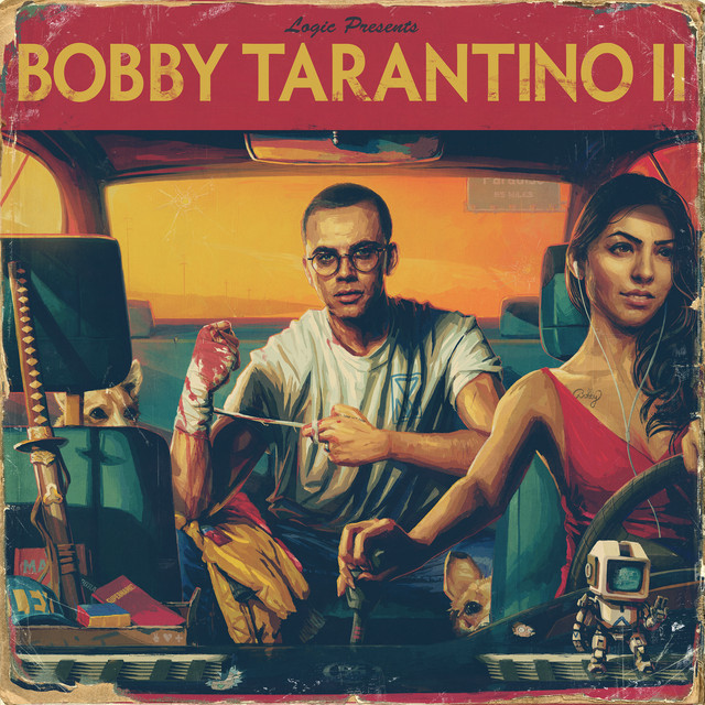 Album cover for Bobby Tarantino II by Logic
