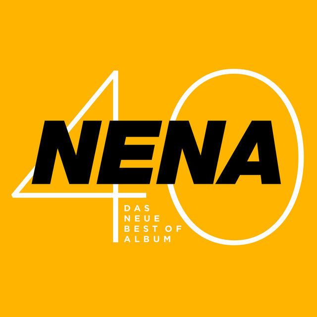 Album cover for Nena 40 - Das neue Best of Album by Nena