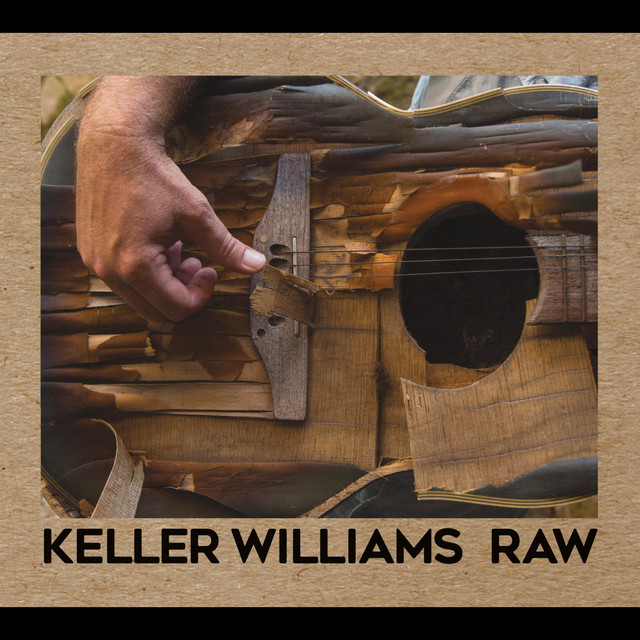 Album cover for Raw by Keller Williams
