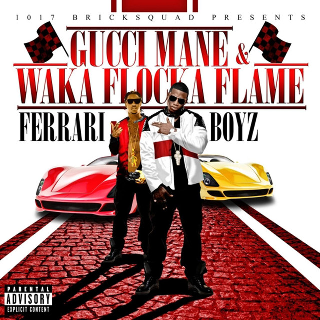 Ferrari Boyz Albumcover