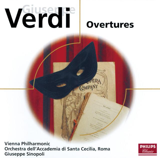 Verdi: Overtures Albumcover