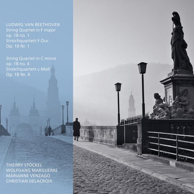 Album cover for Octapharma Classics - Ludwig Van Beethoven Streichquartett F-Dur, Op. 18 No. 1, Streichquartett C-Moll, Op. 18 No. 4 by Ludwig van Beethoven, Octapharma Classics