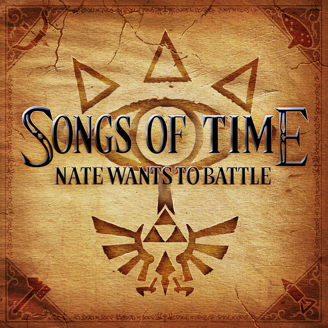 Album cover for Songs of Time by NateWantsToBattle