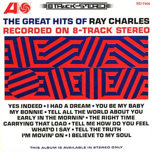 The Great Hits Of Ray Charles Recorded On 8-Track Stereo Albumcover