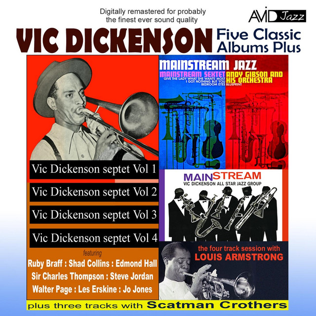 Blueprint mainstream jazz a song by vic dickenson andy gibson more by vic dickenson malvernweather Gallery