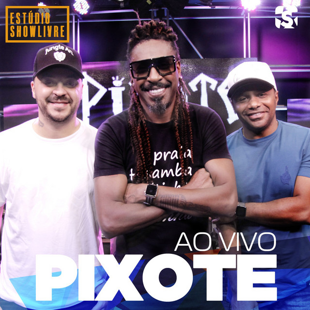 Album cover for Pixote no Estúdio Showlivre (Ao Vivo) by Pixote
