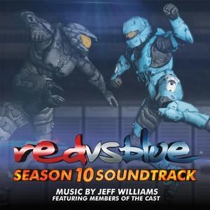 Red vs. Blue Season 10 Soundtrack Albumcover