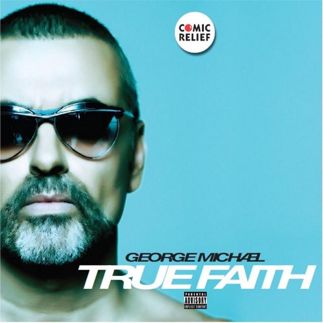 George Michael True Faith album cover