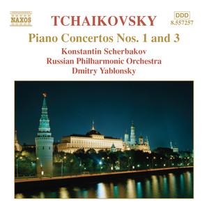 Tchaikovsky: Piano Concertos Nos. 1 and 3 Albumcover