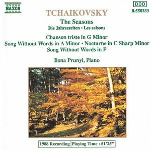 Tchaikovsky: Seasons / Chanson Triste Albumcover